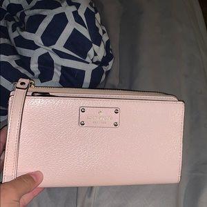 Beautiful pink Kate Spade Wallet!